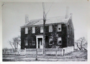 Old Sperry House on Litchfield Turnpike in Woodbridge